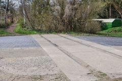 ehemaliger Bahnübergang Idsteiner Strasse