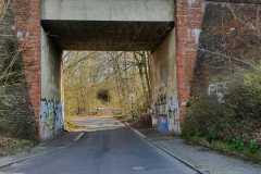 Stammbahnbrücke an der Parforceheide