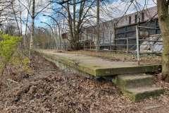 ehemaliger Bahnsteig  Zehlendorf-Süd