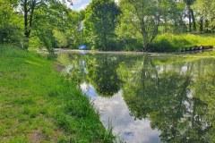 Die Mündung der Plane in die Havel