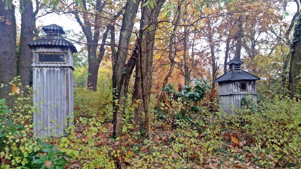Mirenhäuser auf dem Telegrafenberg in Potsdam