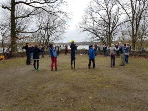Gesundheitswanderung in Berlin - Park Glienicke