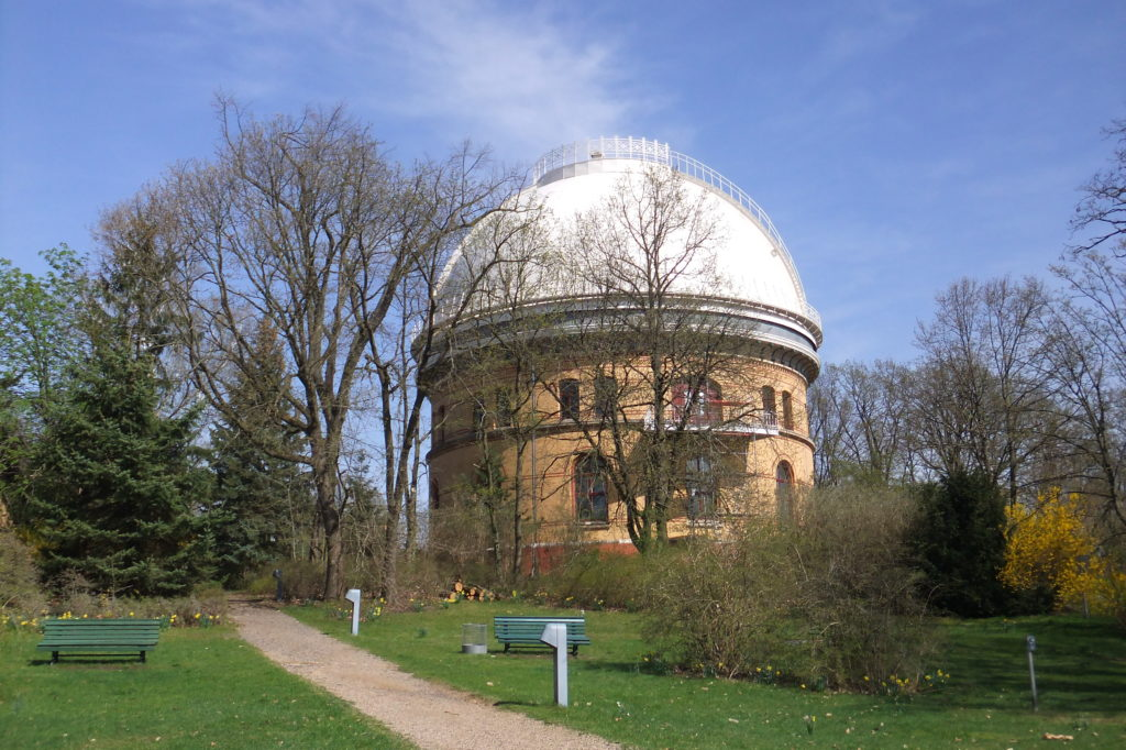 Großer Refraktor auf dem Telegrafenberg in Potsdam
