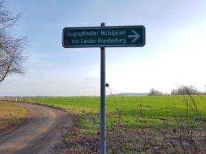Konditionswanderung zum Mittelpunkt Brandenburgs @ Potsdam Tramhaltestelle Kirschallee