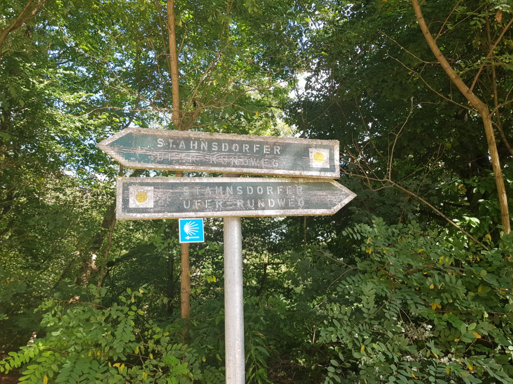 Jakobsweg in Stahnsdorf
