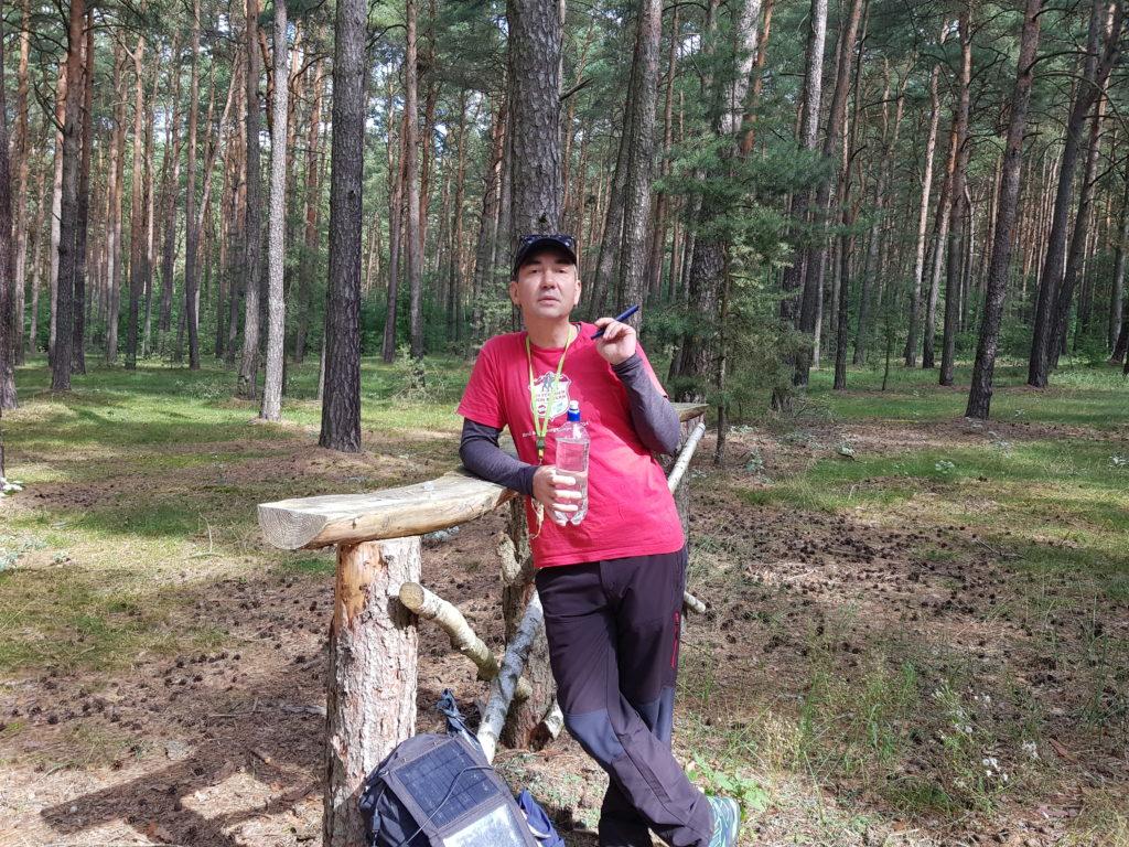 Theke ? im Wald