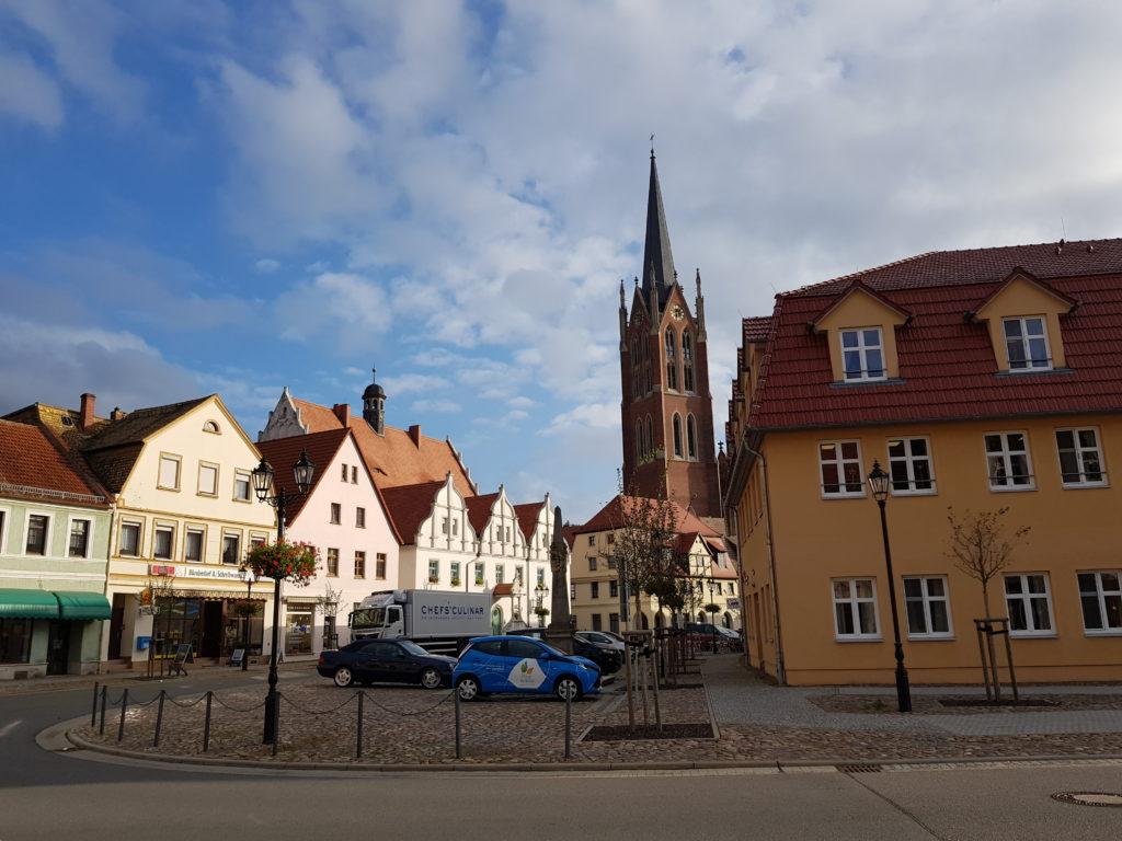 Ankunft in Kemberg