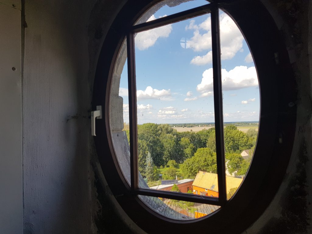 Blick aus dem Turmfenster