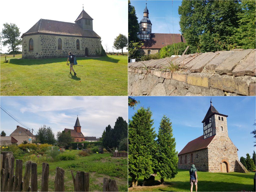 Dorfkirchen am Wegesrand