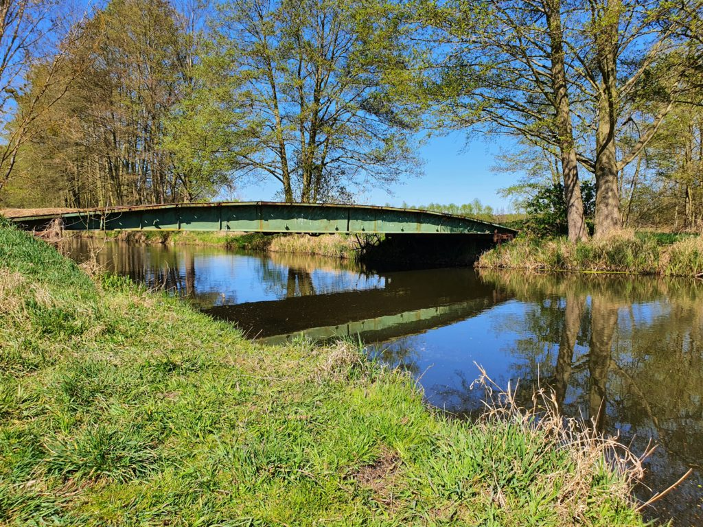 Panzerbrücke über die Nuthe