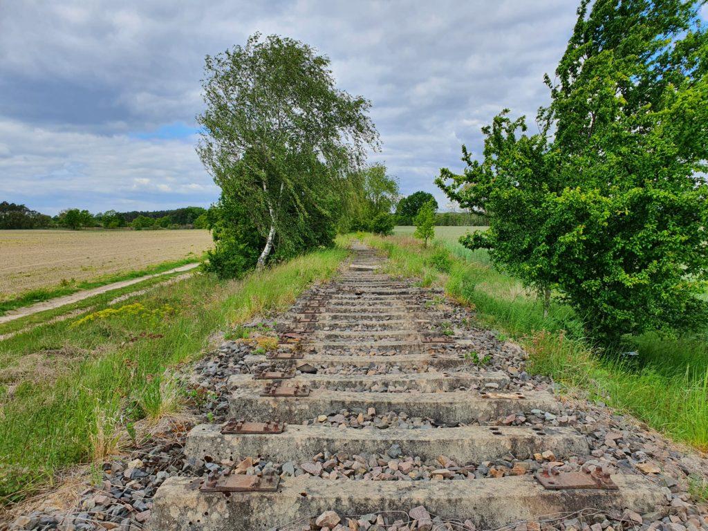 alte Bahntrasse bei Jüterbog